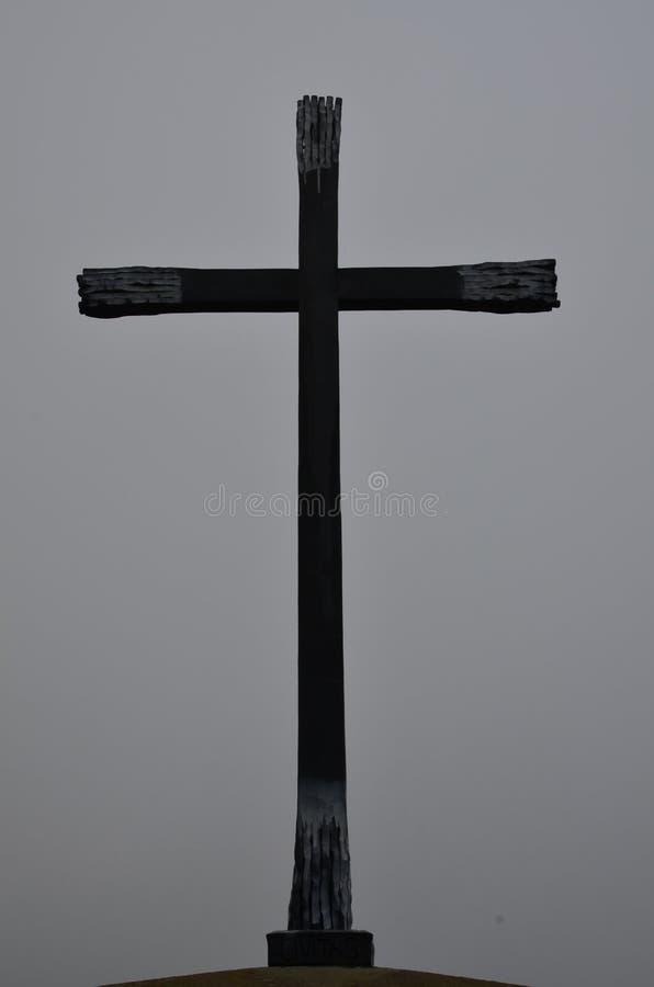 Arte trasversale cristiana fotografia stock