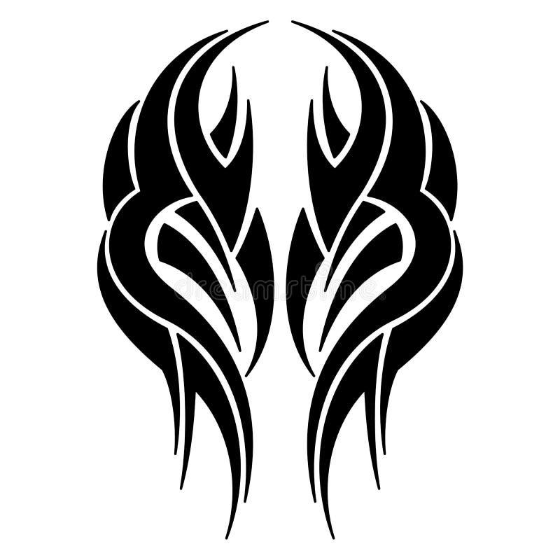 Arte tribal ilustração royalty free