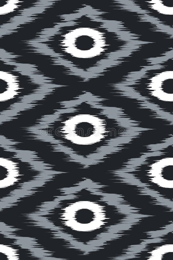 Arte tribal del modelo inconsútil ilustración del vector