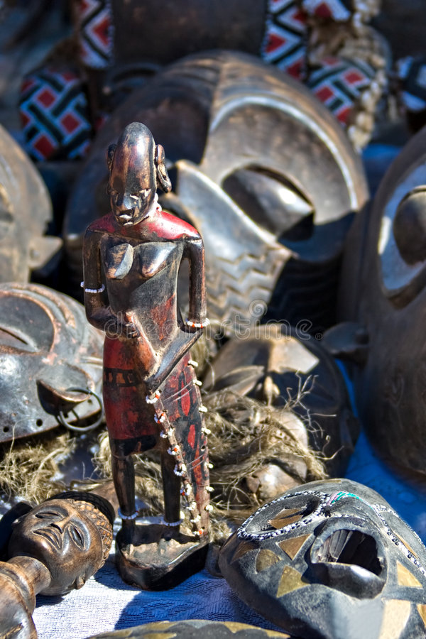 Arte tribale fotografie stock
