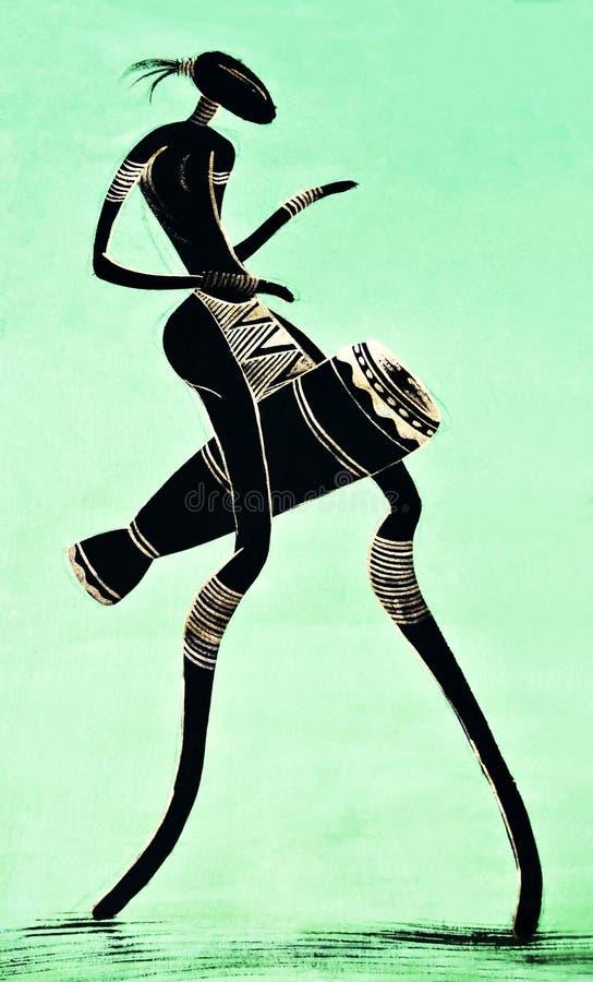 Arte tribale immagine stock