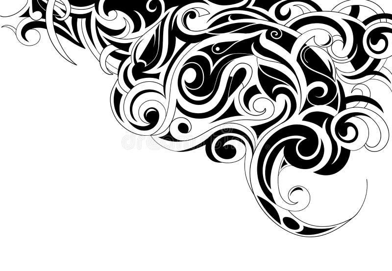 Arte tribale royalty illustrazione gratis