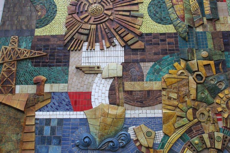 Arte urbana abstrata da rua em Valência, Espanha imagens de stock royalty free