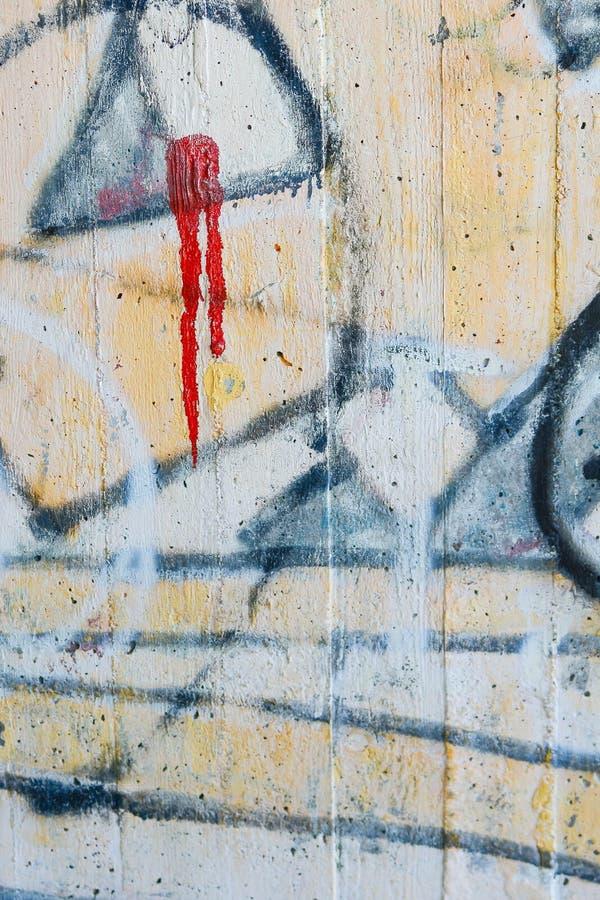 Arte urbana dos grafittis colorida e abstrata imagens de stock royalty free