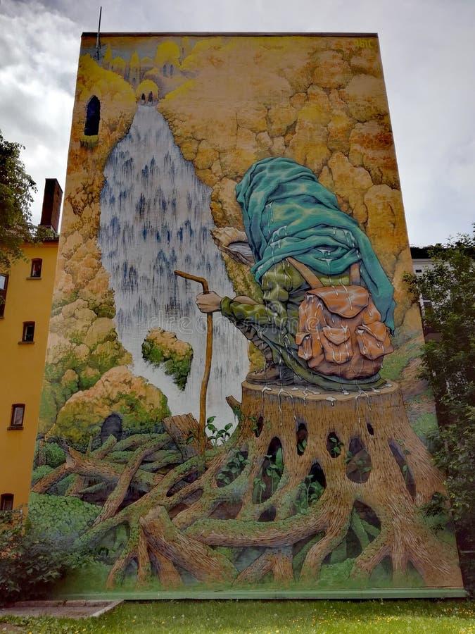 Arte urbana em Oslo fotos de stock royalty free