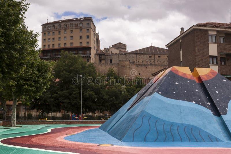 Arte urbana no centro da cidade Arte conceptual lifestyle imagens de stock royalty free