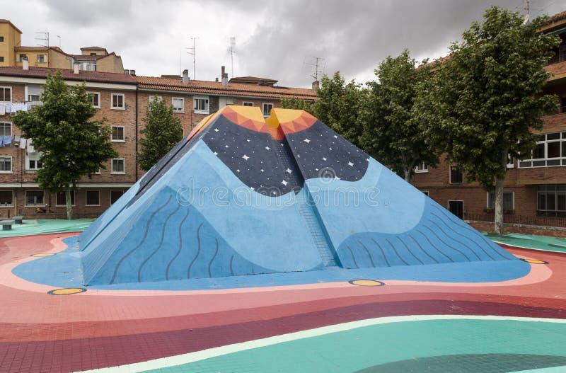 Arte urbana no centro da cidade Arte conceptual lifestyle imagem de stock royalty free