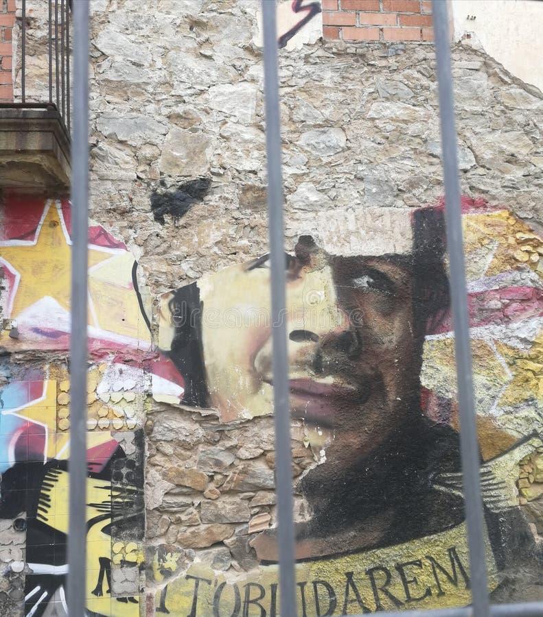 Arte urbana ou arte da rua fotos de stock
