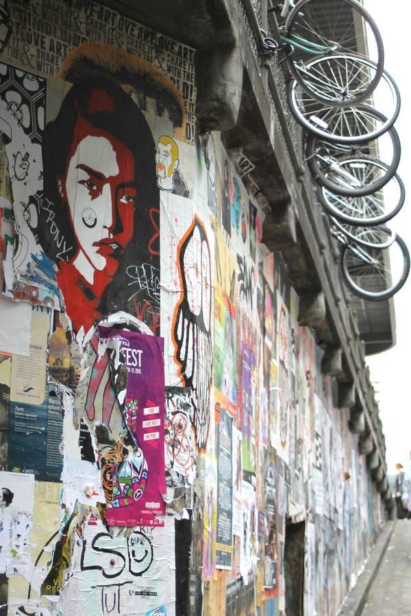 Arte urbano foto de archivo libre de regalías
