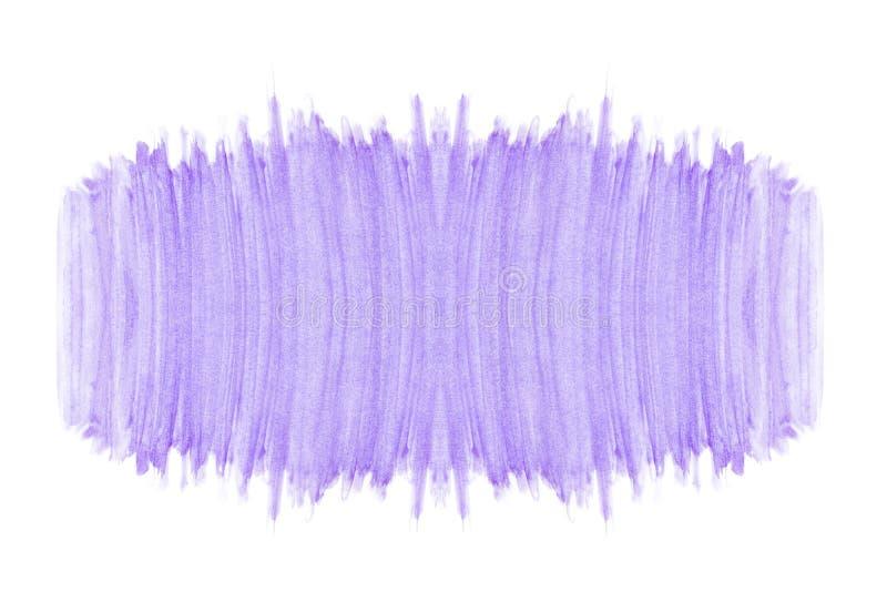 Arte violeta roxa da textura do teste padrão das máscaras da aquarela do sumário pintado à mão no fundo branco com espaço da cópi fotos de stock royalty free