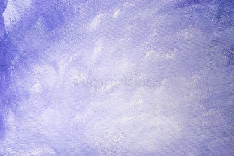 Arte violeta textura pintada do fundo ilustração stock