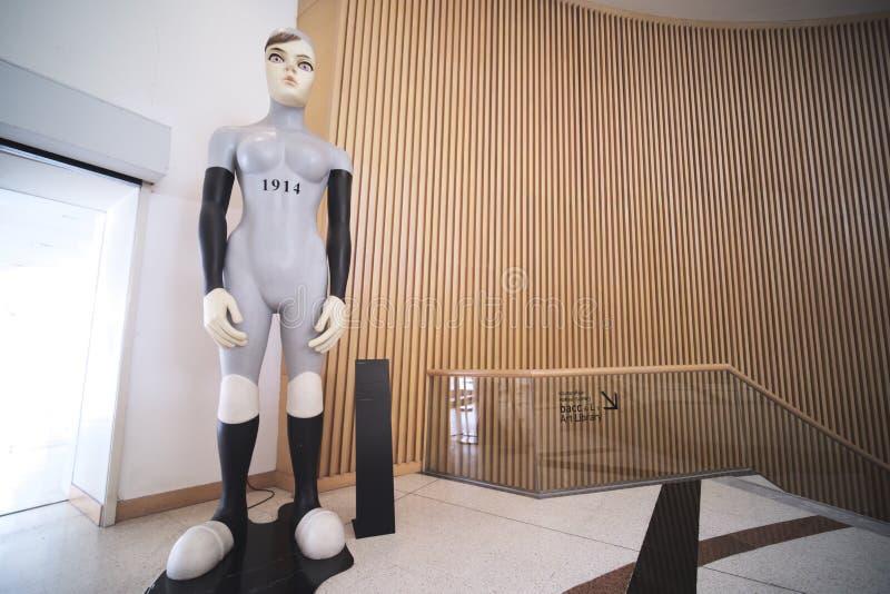 Arte y centro cultural &#x28 de Bangkok; BACC) fotos de archivo