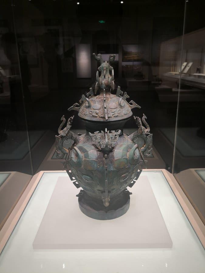 Artefactos de Sui Dynasty foto de archivo libre de regalías