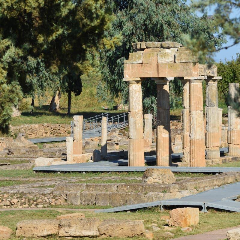 Artemis de Vravrona, Grécia fotografia de stock royalty free