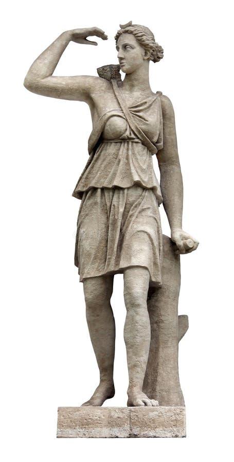 artemis rzeźba zdjęcia royalty free
