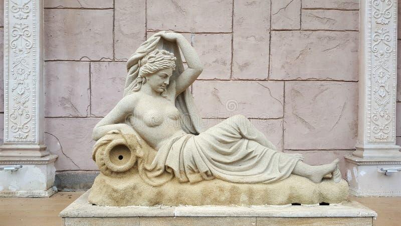 Artemis Statue royalty free stock photo