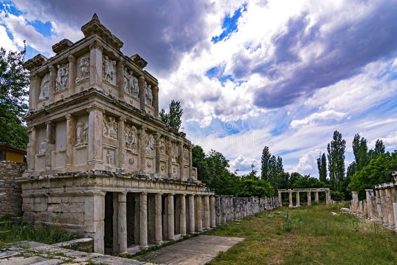 Artemis Temple stockfotos