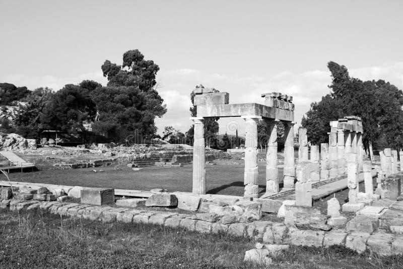 Artemis Temple en Grecia imagenes de archivo