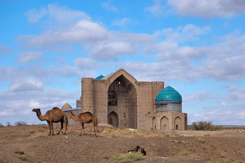 Arten der Stadt von Turkestan stockfoto