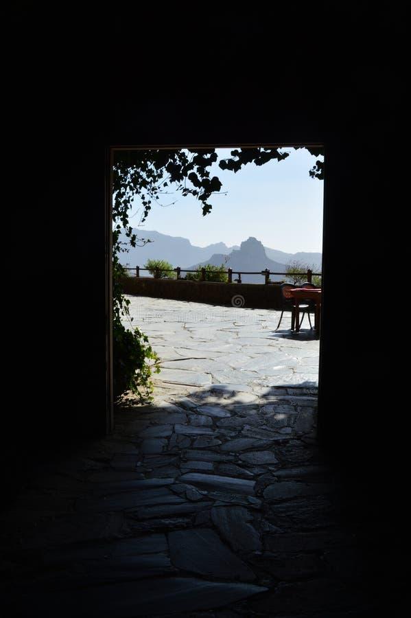 Artenara from cave stock images