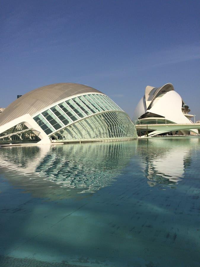 artes ciencias ciudad de las y valencia royaltyfri foto
