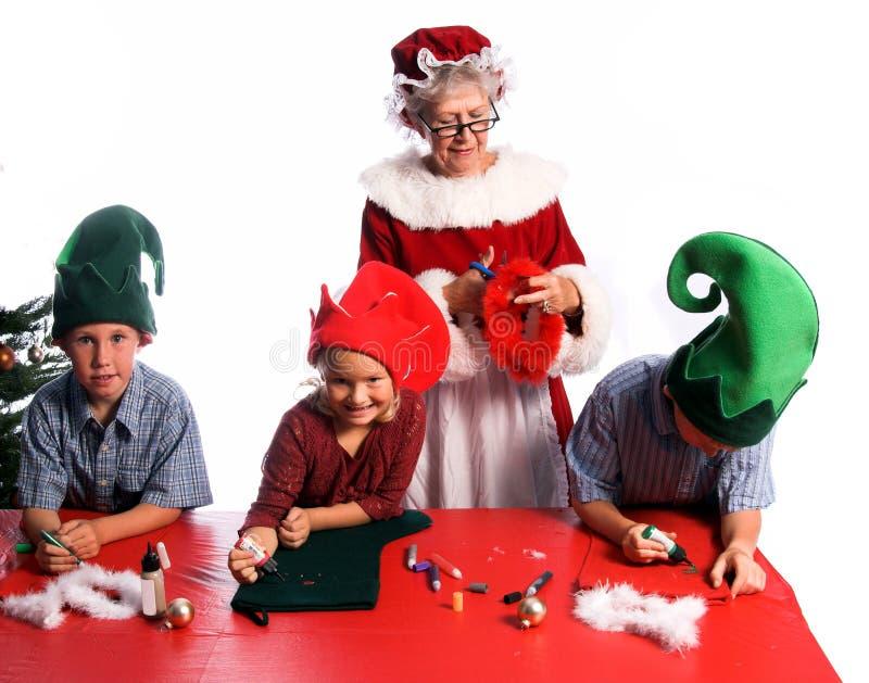 Artes de la Navidad fotografía de archivo libre de regalías