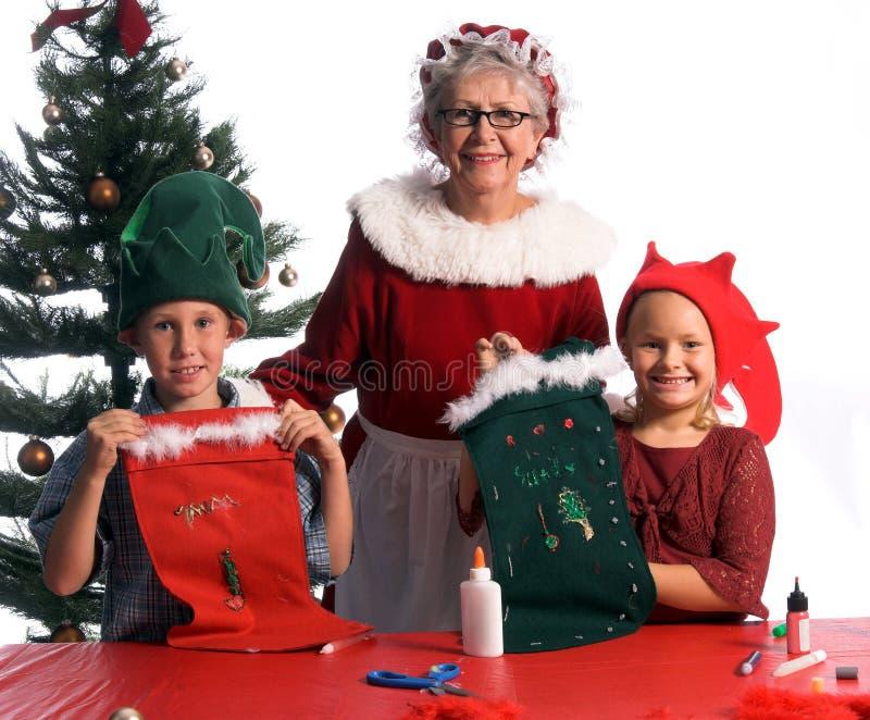 Artes de la Navidad foto de archivo