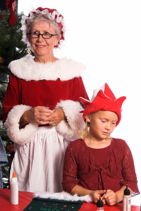 Artes de la Navidad imagenes de archivo