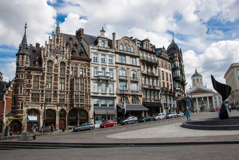 Artes del DES de Monts, Bruselas imagen de archivo