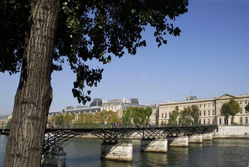Artes do DES de Pont em Paris foto de stock
