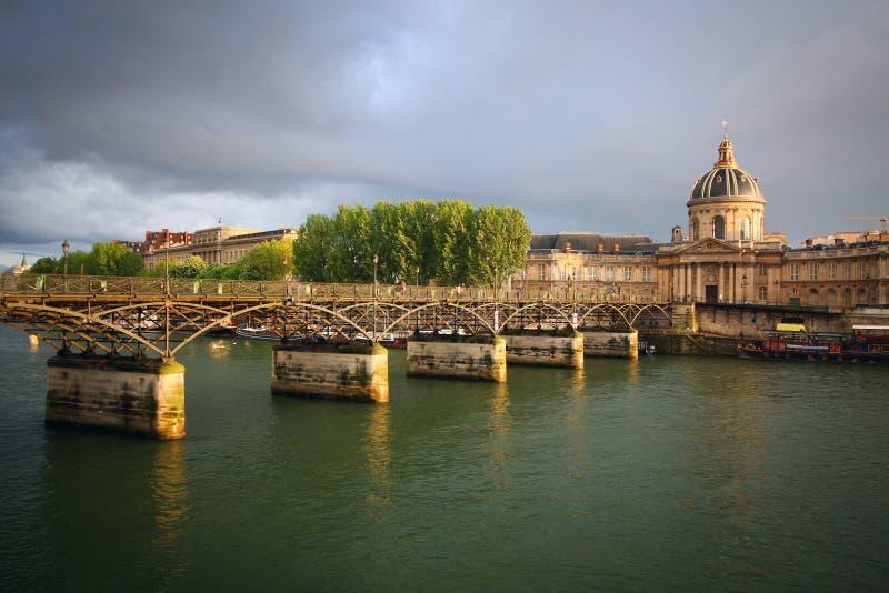 Artes do DES de Pont em Paris fotos de stock
