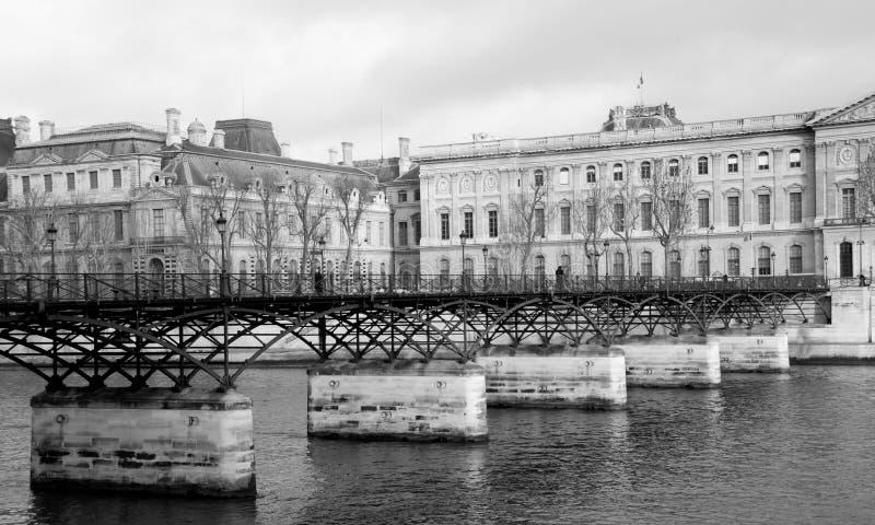 Artes do DES de Pont, Paris fotografia de stock royalty free
