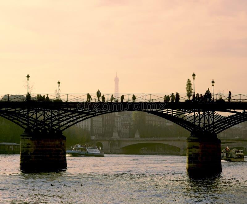 Artes Paris do DES de Pont fotos de stock