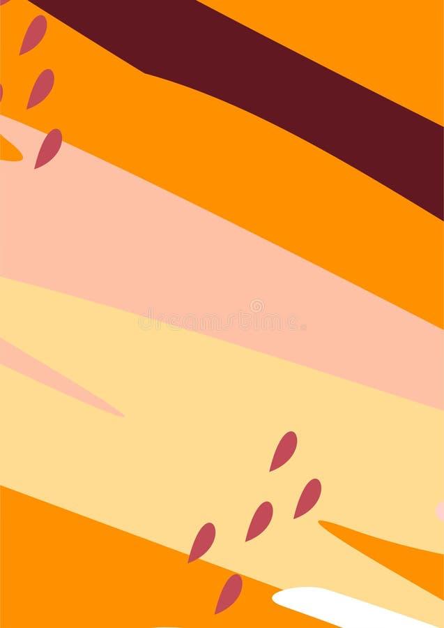 Artes/pinturas/fondos/ejemplos simples coloridos de Digitaces del extracto libre illustration