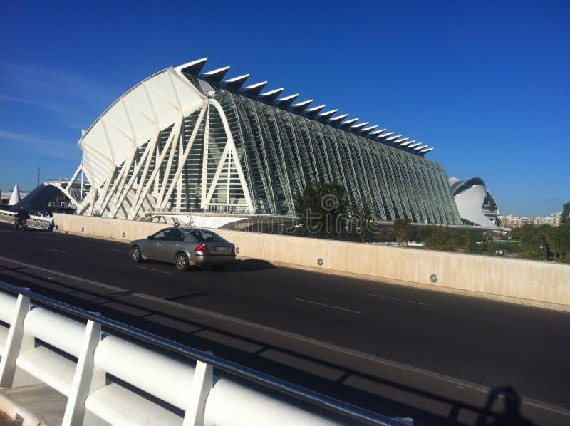 Artes y Ciencias de Валенсия стоковые изображения rf