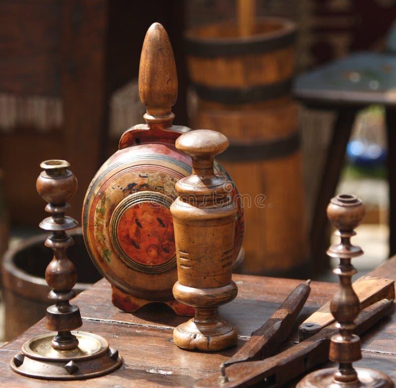 Artesanía de madera fotografía de archivo
