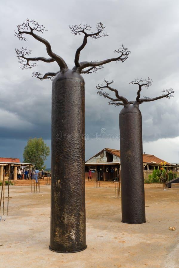 Artesanato malgaxe imagens de stock