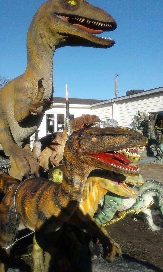 Artesania de Dinosaurios stockfoto