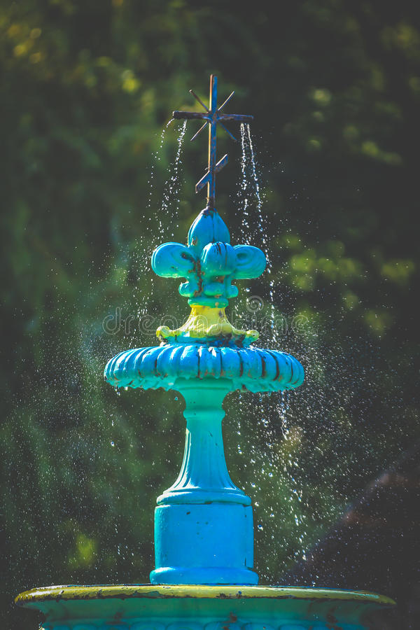 Artesian fountain royalty free stock photography