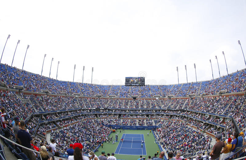Download Arthur Ashe Stadium At The Billie Jean King National Tennis Center During US Open 2013 Tournament Editorial Photo - Image: 40957336