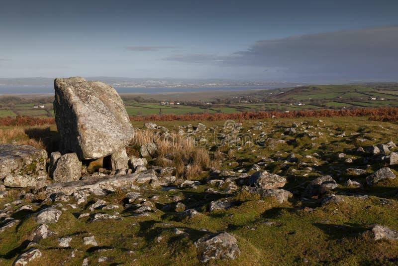 Arthur kamienny grzebalny grobowiec zdjęcia royalty free