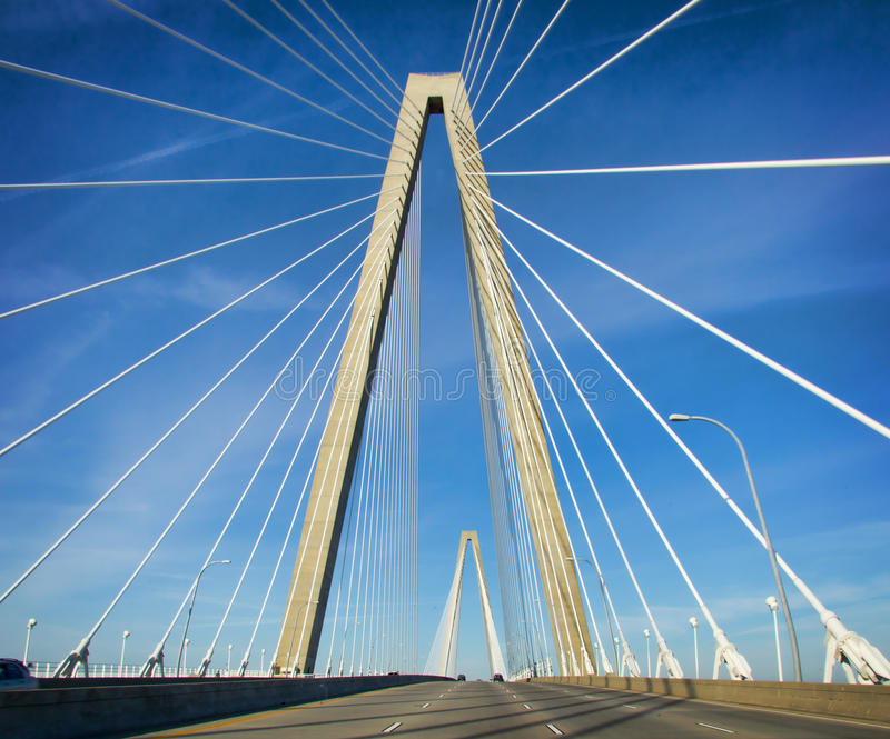 Arthur Ravenel, passerelle de Jr. photo stock