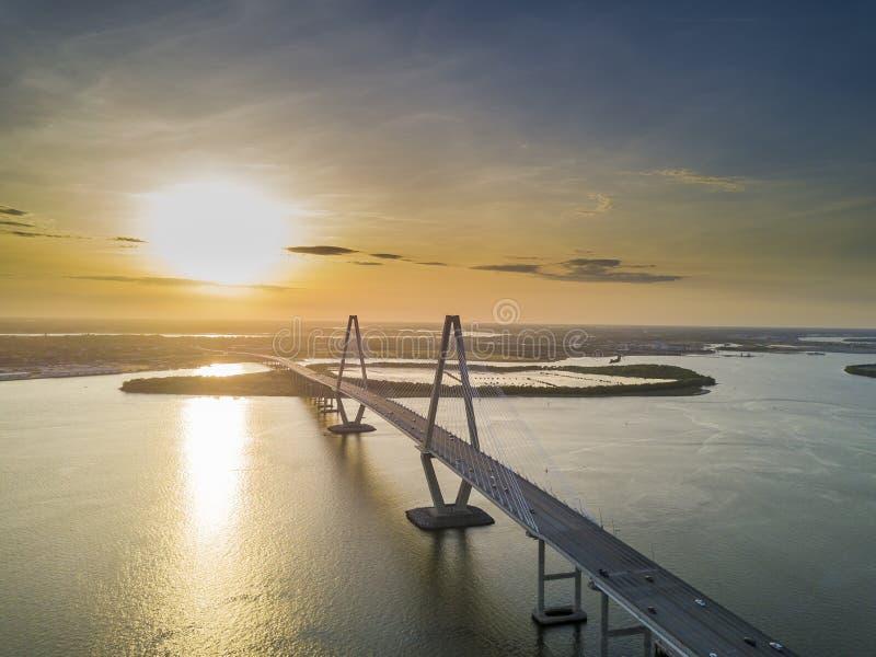 Arthur Revenel Bridge immagine stock libera da diritti