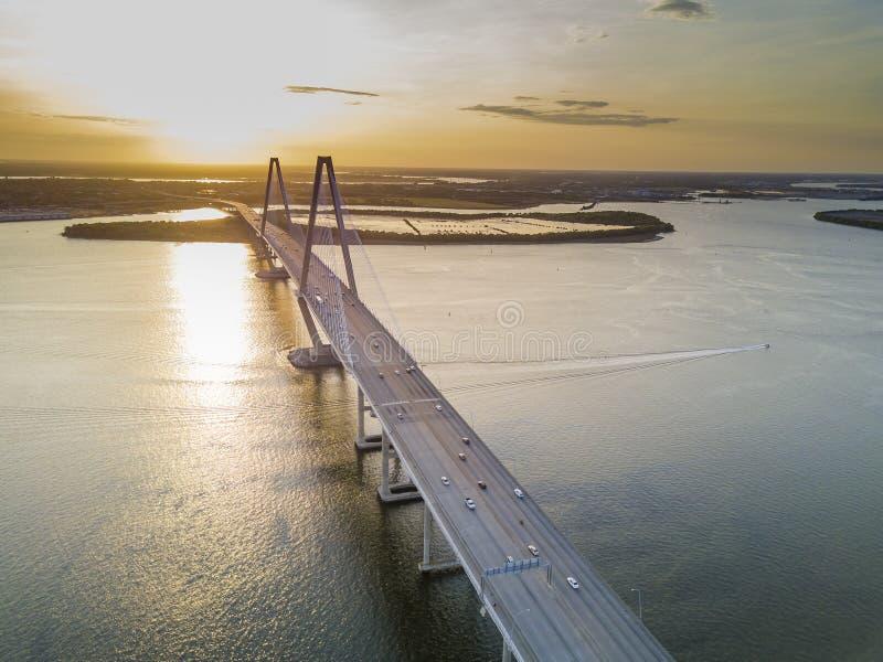 Arthur Revenel Bridge fotografía de archivo