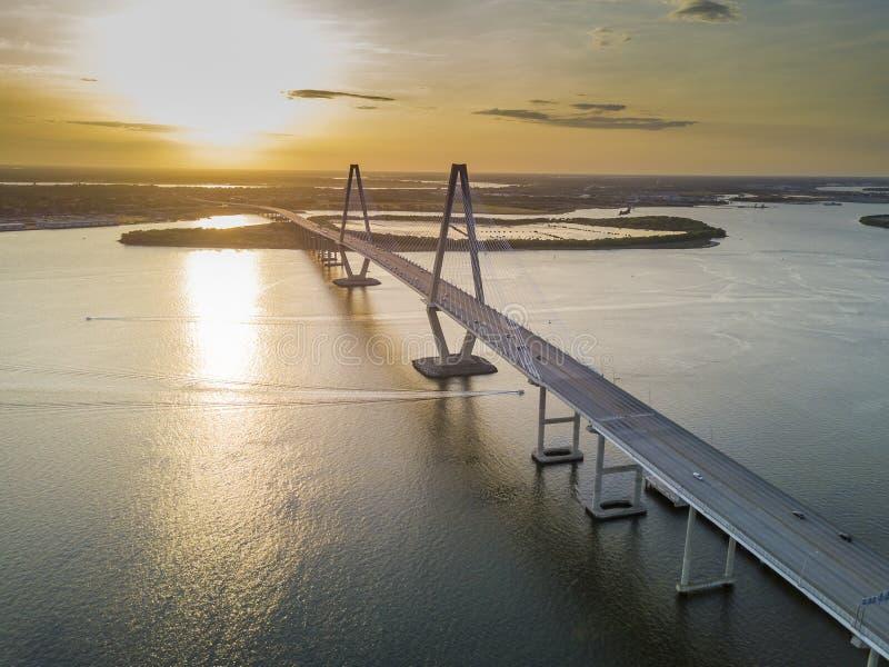 Arthur Revenel Bridge immagini stock libere da diritti