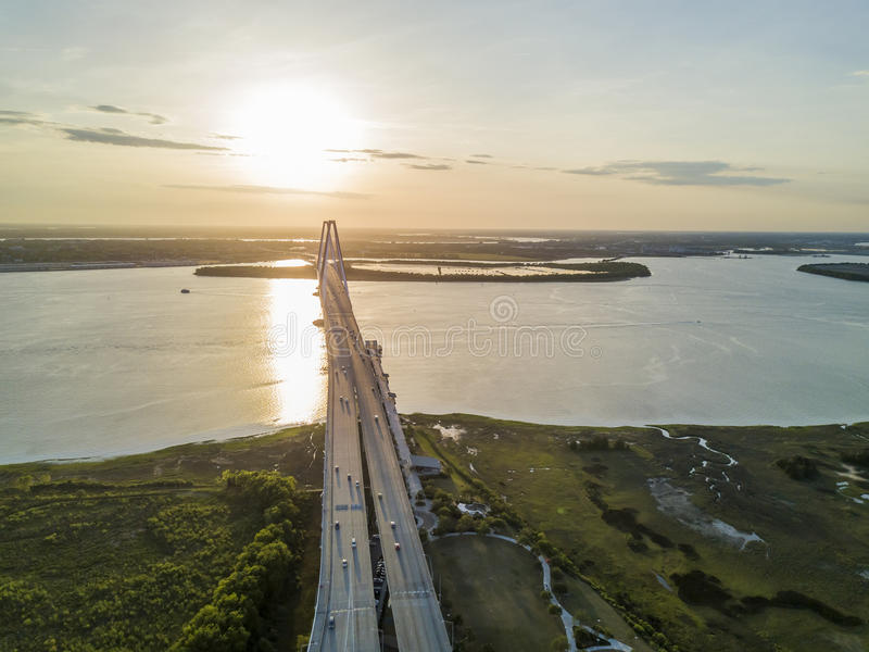 Arthur Revenel Bridge fotografia stock