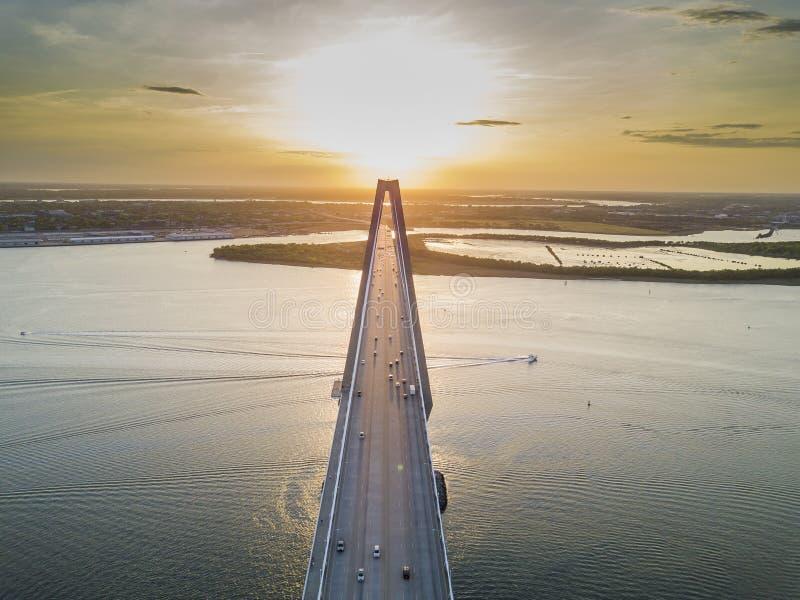Arthur Revenel Bridge fotografia stock libera da diritti