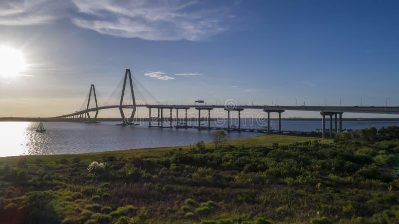 Arthur Revenel Bridge fotos de archivo