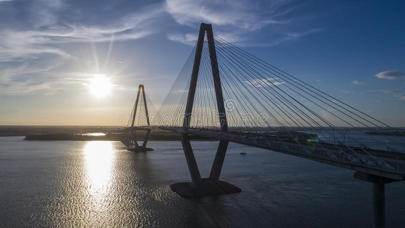 Arthur Revenel Bridge fotos de archivo libres de regalías