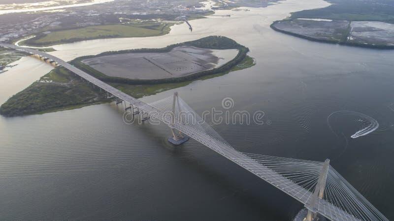 Arthur Revenel Bridge imágenes de archivo libres de regalías